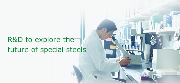 R&D to explore the future of special steels